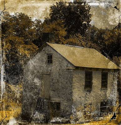 Forgotten Barn Print by Marcia Lee Jones