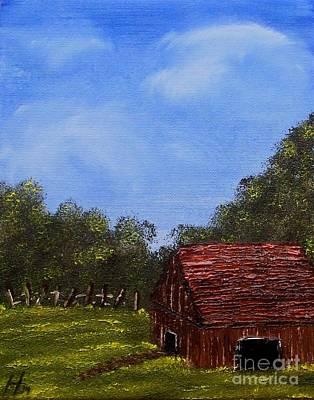 Forgotten Barn Print by Nature's Effects - Heather Seward