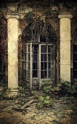 Forgotten Chamber Print by Jaroslaw Blaminsky