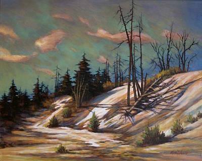Clouds Painting - Forgotten by Guo Quan Zheng