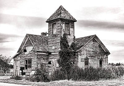 Forgotten In South Jersey Print by Olivier Le Queinec