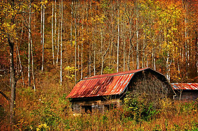 Barns Photograph - Forgotten In Time by HH Photography of Florida