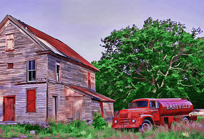 Fire Photograph - Forgotten by Marcia Colelli