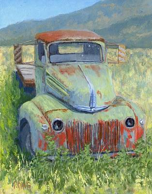 Grill Painting - Forlorn Ford by David King