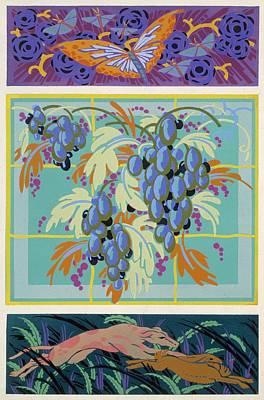Formes Et Couleurs Print by Auguste H Thomas