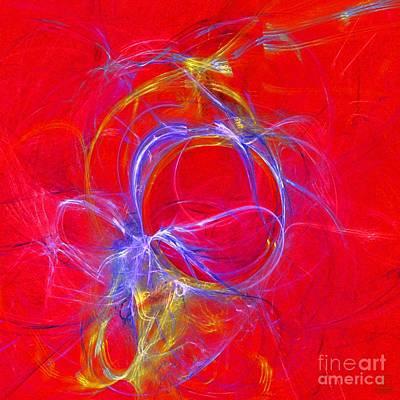 Liander Art Digital Art - Forming 3 by Jeanne Liander