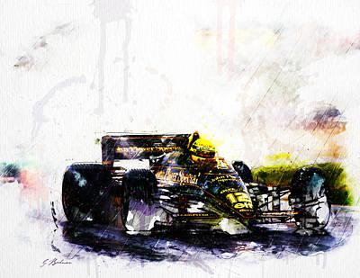 Formula 1 John Player Special Print by Gary Bodnar