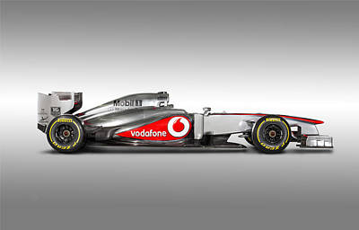 Formula 1 Mclaren Mp4-28 2013 Print by Gianfranco Weiss