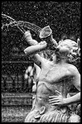 Forsyth Park Fountain Print by Kristy Ollis