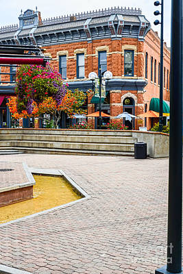 Fort Collins Photograph - Fort Collins Square by Keith Ducker