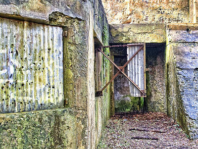 St. Helena Photograph - Fort Fremont Open Window by Scott Hansen