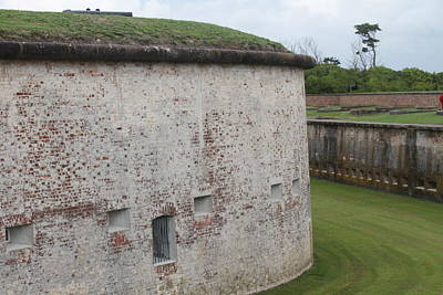 Historic Site Photograph - Fort Macon 3 by Cathy Lindsey