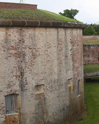 Historic Site Photograph - Fort Macon 7 by Cathy Lindsey