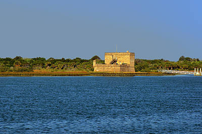 Rustic Photograph - Fort Matanzas - Saint Augustine Florida by Christine Till