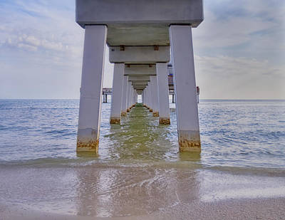 Kim Photograph - Fort Myers Beach Pier by Kim Hojnacki