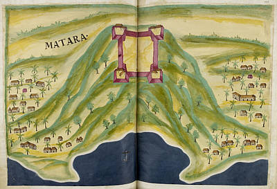 Africa-north Photograph - Fort Of Matara by British Library