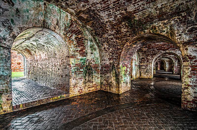 Fort Pike Print by Andy Crawford