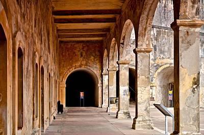 Fort San Cristobal 5 Print by Ricardo J Ruiz de Porras