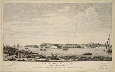Fort St. Philippe Print by British Library