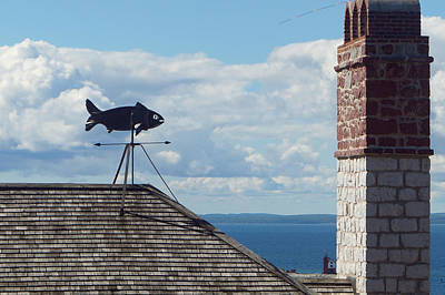 Fort Weather Vane Print by Shawn Smith