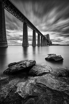 Forth Bridge Print by Dave Bowman