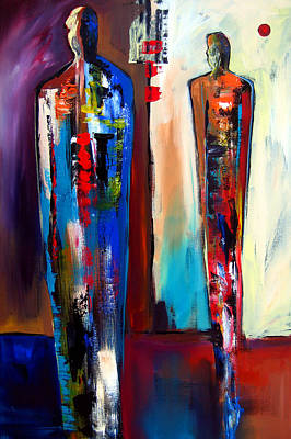 Colorful Abstract Drawing - Forward by Tom Fedro - Fidostudio