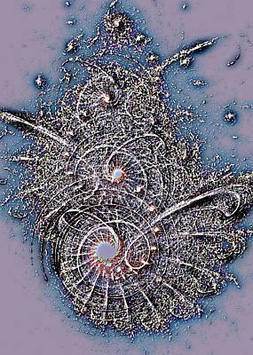 Surreal Digital Art - Fossil by Anastasiya Malakhova