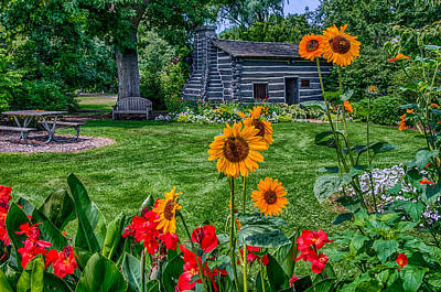 Foster Park Fort Wayne Indiana Original by Gene Sherrill