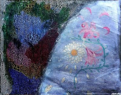 Found Fresco Flowers Original by Genevieve Esson