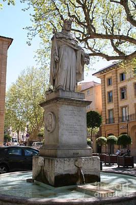 Europe Provence Aix-en-provence Photograph - Fountain - Aix En Provence by Christiane Schulze Art And Photography