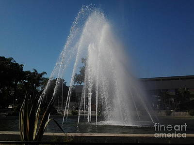 Photograph - Fountain by Mourad HARKAT