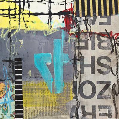 Avant Garde Mixed Media - Four by Elena Nosyreva