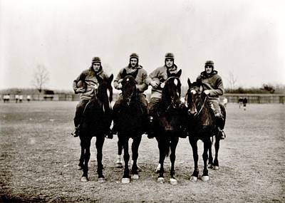 Notre Dame Photograph - Four Horsemen by Benjamin Yeager
