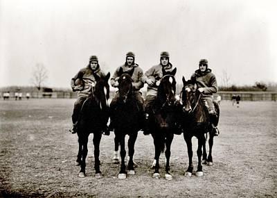 Four Horsemen Print by Benjamin Yeager