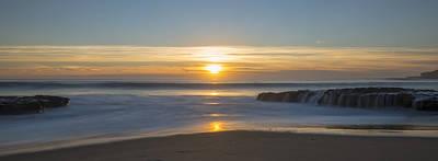 Four Mile Beach Sunset Print by Loree Johnson