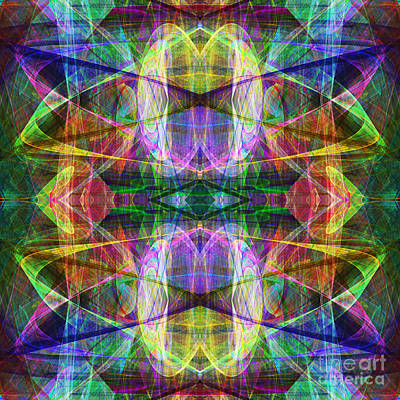 Fourth Dimension Ap130511-22-2b Print by Wingsdomain Art and Photography