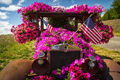 Loud Photograph - Fourth Of July Color by Jean Noren