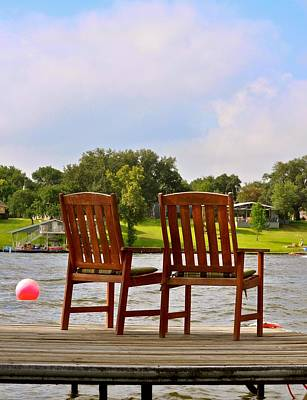 2 Solitudes Photograph - Fourth Of July Vacation by Kristina Deane