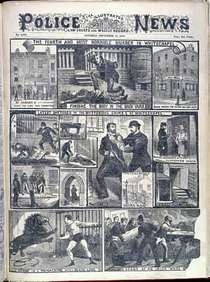 Fourth Whitechapel Murder Print by British Library