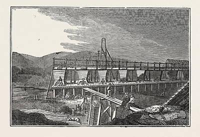 Fowey Consols Copper Print by English School