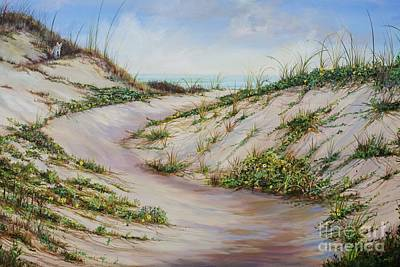Base Path Painting - Fox Dunes by AnnaJo Vahle