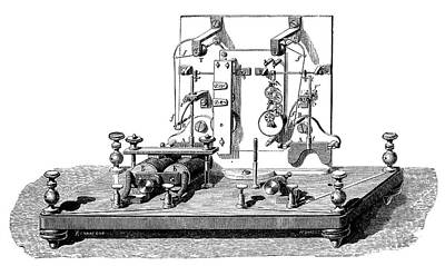 Foy-breguet Telegraph Print by Science Photo Library