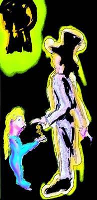 Accountability Digital Art - Frackin' Utopia Dickensian Style  by Mervyn Cornelius