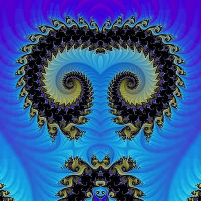 Fractal Digital Art - Fractal 00030 by George Cuda
