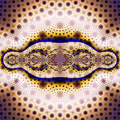 Fractal Digital Art - Fractal 00048 by George Cuda