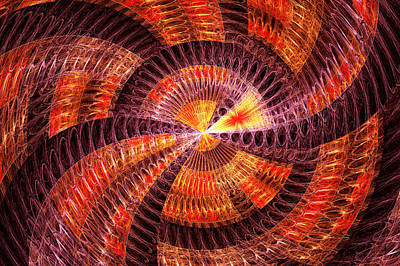 Suburban Digital Art - Fractal - Abstract - The Constant by Mike Savad