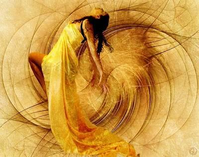 Apophysis Digital Art - Fractal Dance Of Joy by Gun Legler