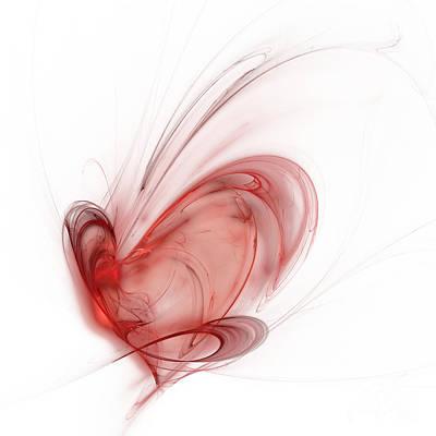 Fractal Heart Original by Mark Bowden