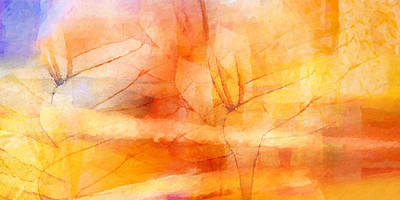 Colorful Abstract Painting - Fragrancia by Lutz Baar