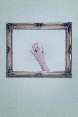 Framed Hand Print by Joana Kruse